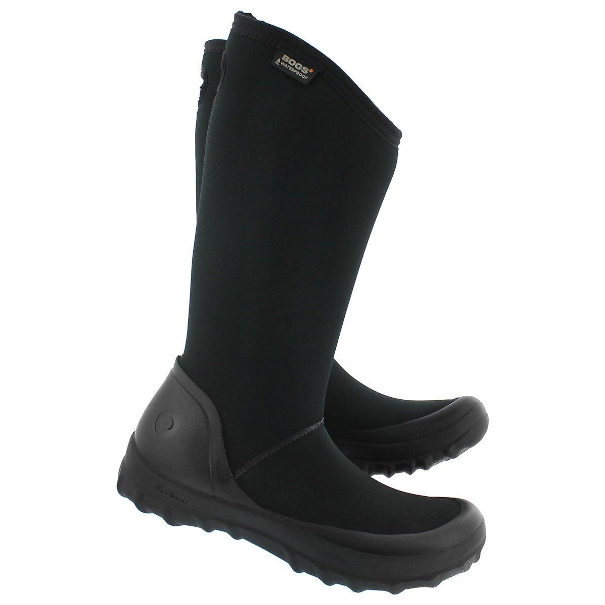 Lds Kettering blk tall wtpf winter boot