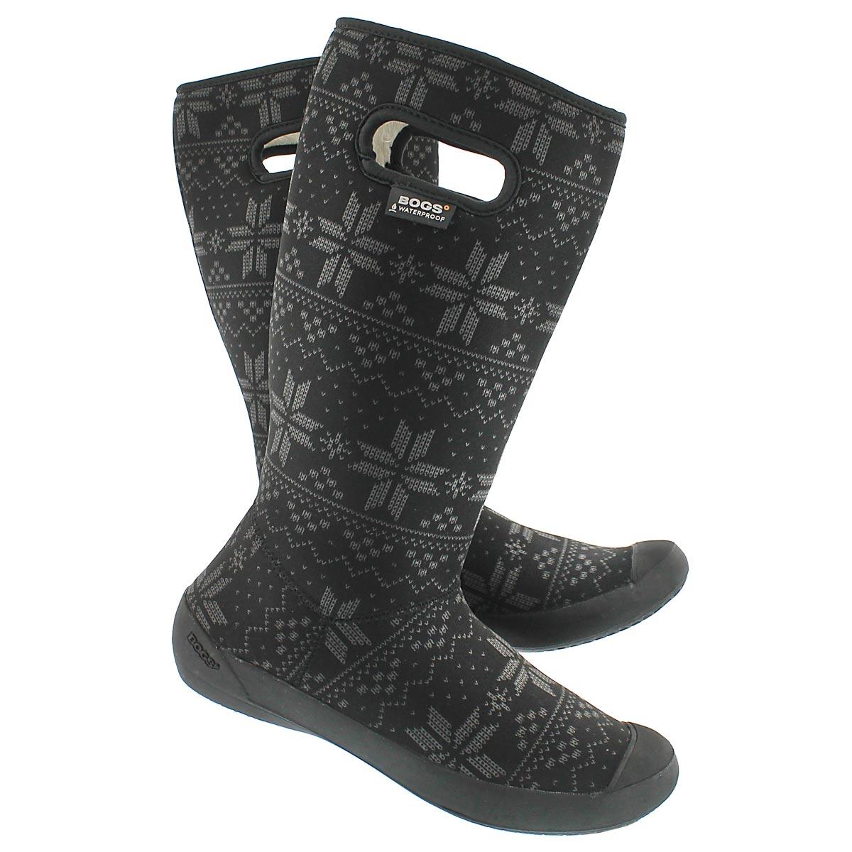 Lds Summit Sweater blk wtpf winter boot