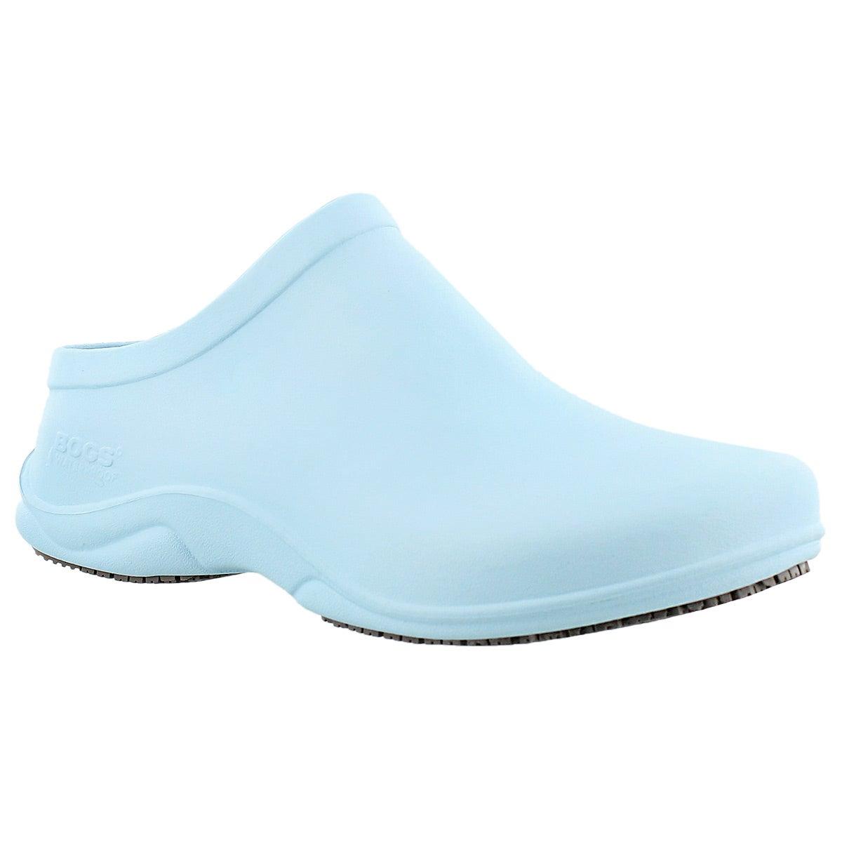 Lds Stewart sky blue wtpf anti-slip clog