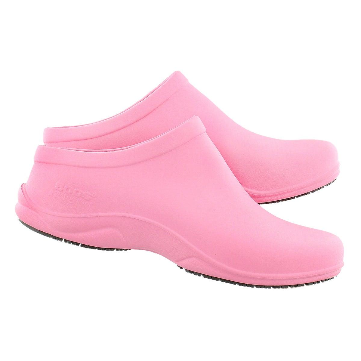 Lds Stewart pink wtpf anti-slip clog