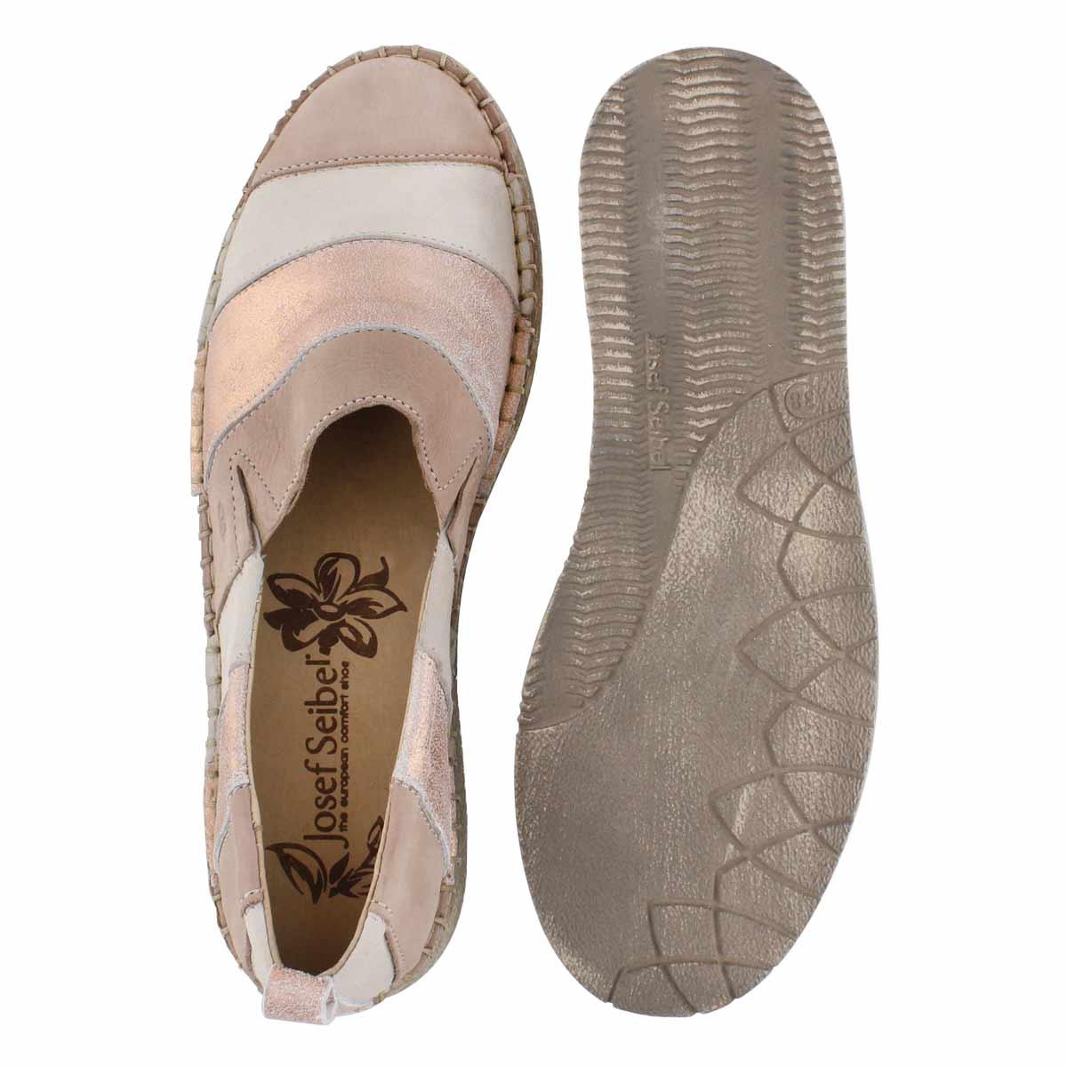 Lds Sofie 23 nude mlti slip on shoe