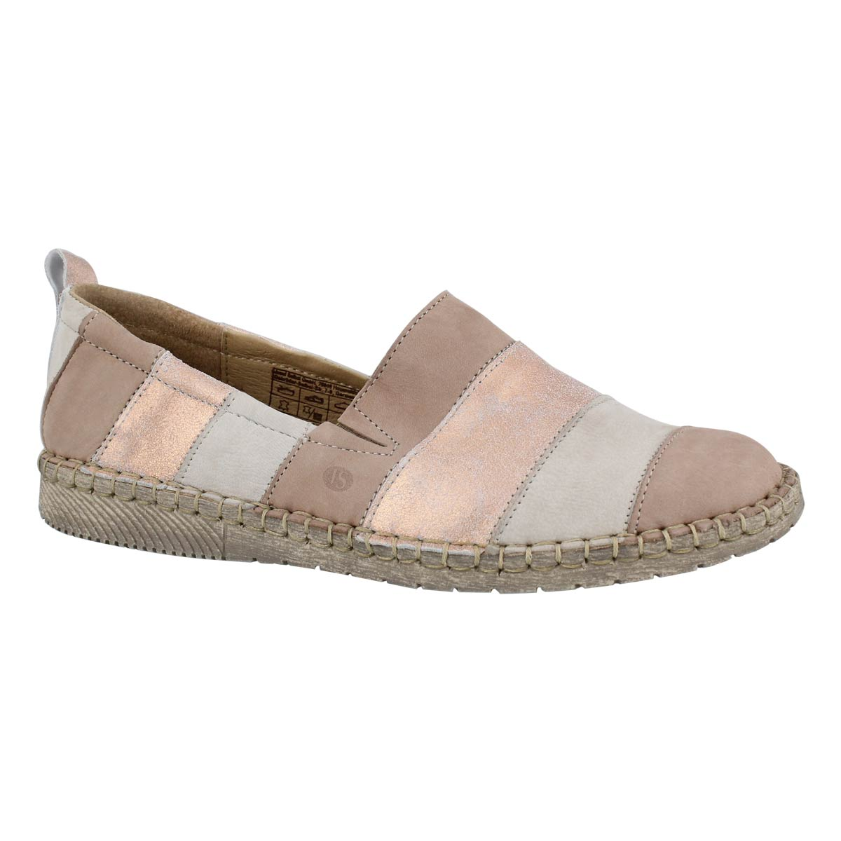 Women's SOFIE 23 nude mlti slip on shoes