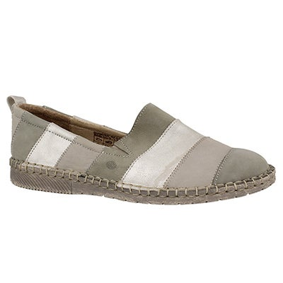 Lds Sofie 23 nature mlti slip on shoe