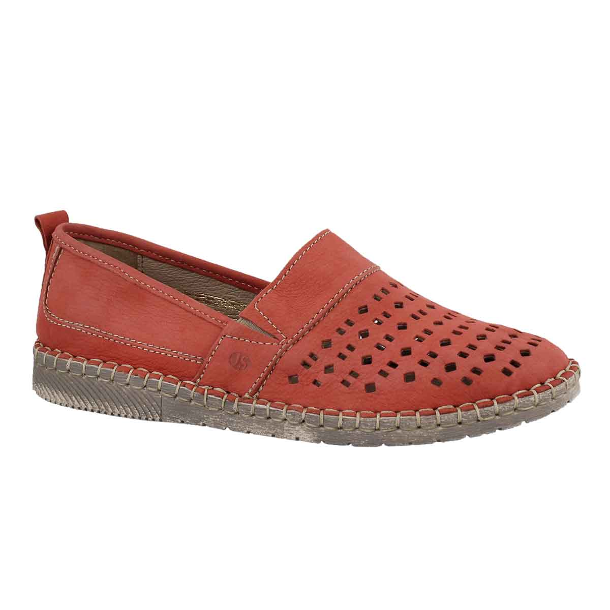 Women's SOFIE 27 red slip on shoes