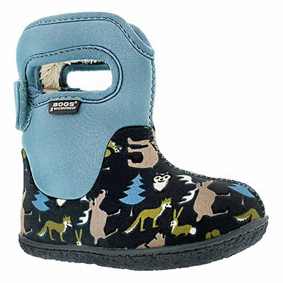Bogs Infants' CLASSIC WOODLAND navy winter boots