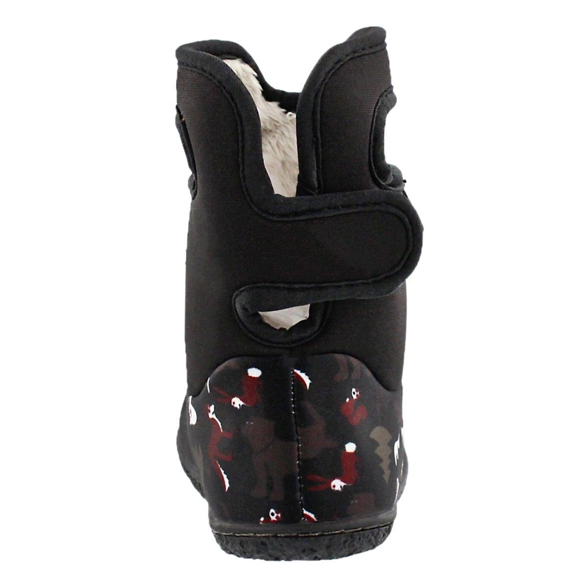 Botte d'hiver Classic Woodland, noir, b�