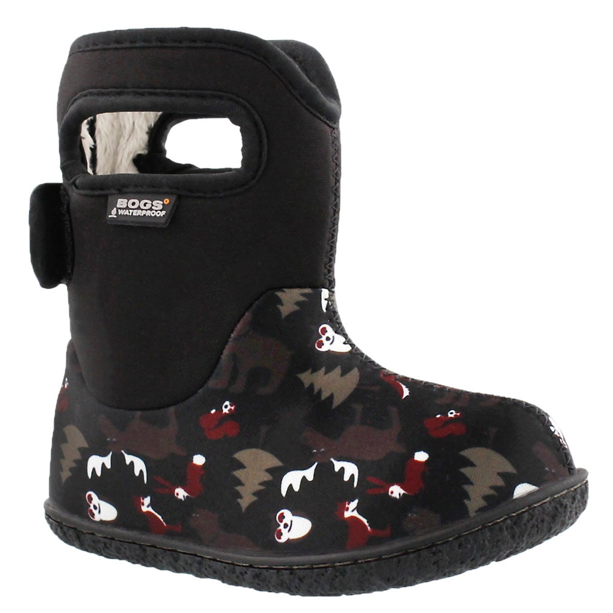 Infs Classic Woodland black wntr boot