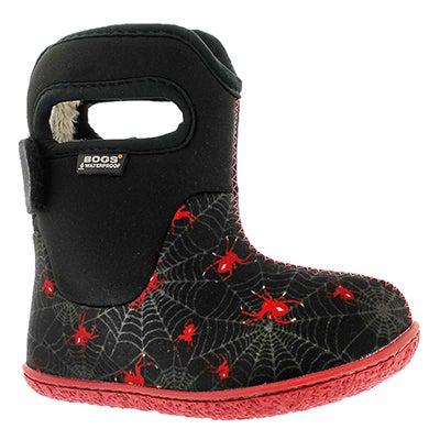 Bogs Infants' CLASSIC CREEPY CRAWLER black winter boots