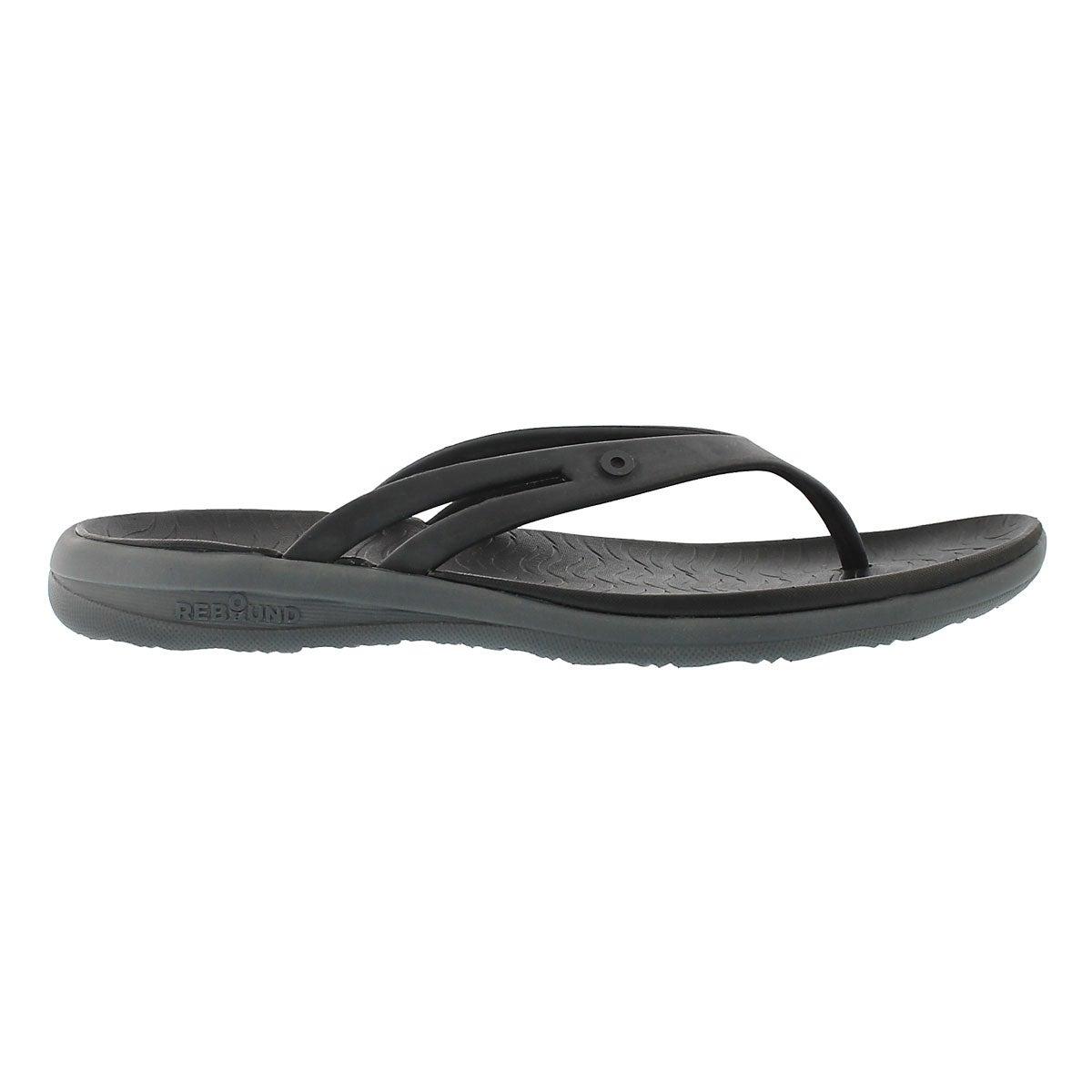 Sandale tong Gracie, noir multi, femmes