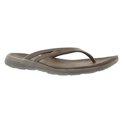 Bogs Sandales tongs GRACIE, taupe multi, femmes