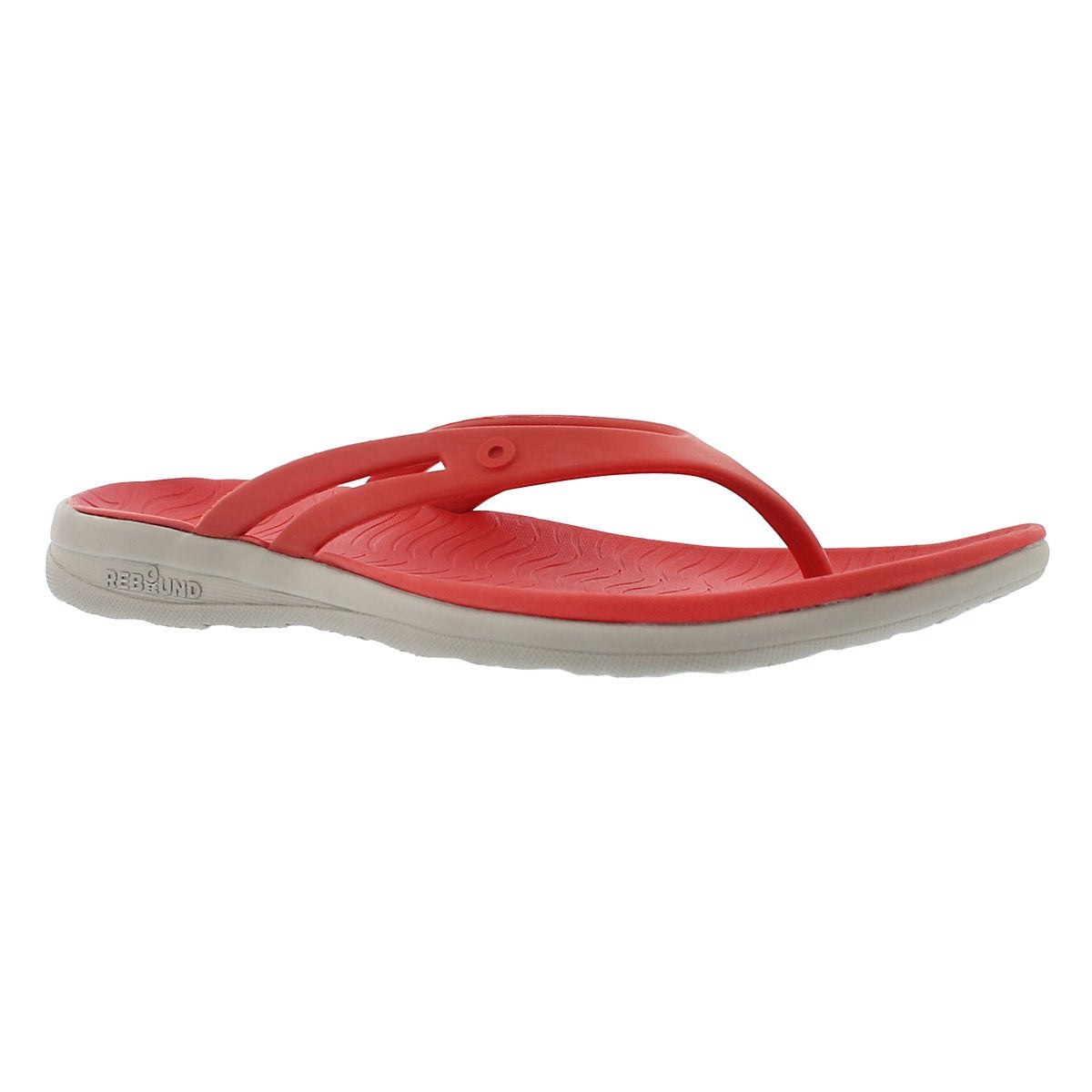 Sandales tongs GRACIE, rouge multi, femmes