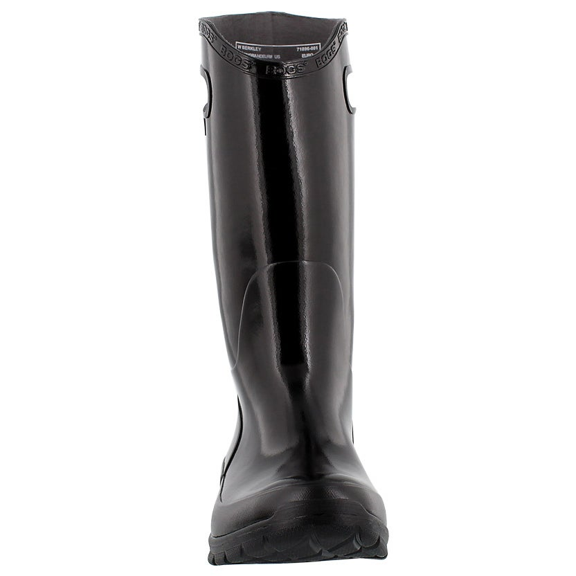 Lds Berkley black tall rain boot
