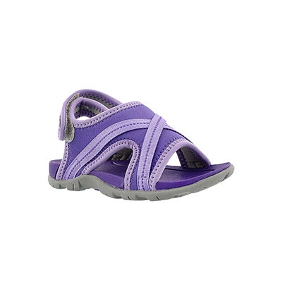 Bogs Infants' BLUEFISH violet waterproof sport sandals
