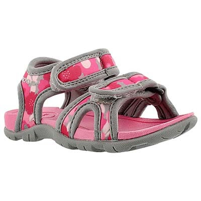 Bogs Infants' WHITEFISH SPRING FLOWER pink wtpf sandals
