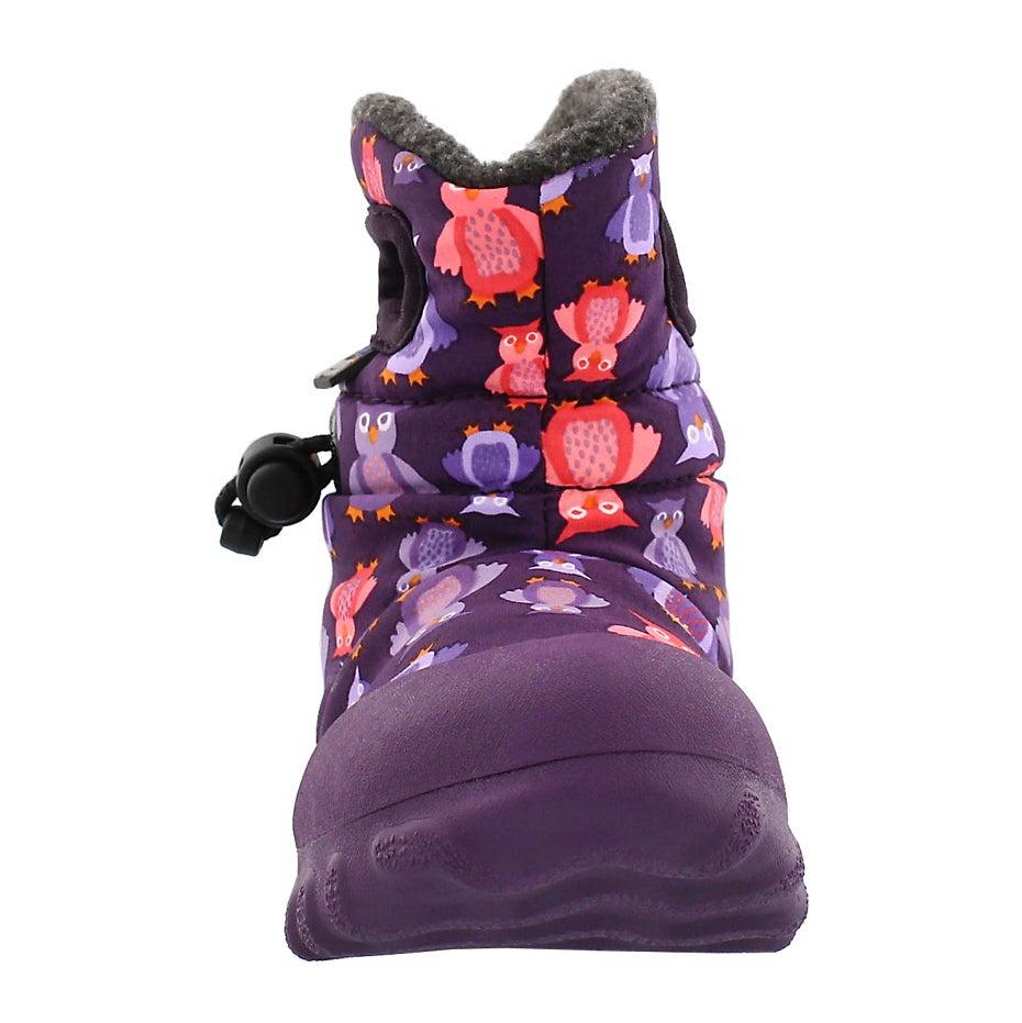 Botte imp B-MOC PUFF OWLS, violet, bébé