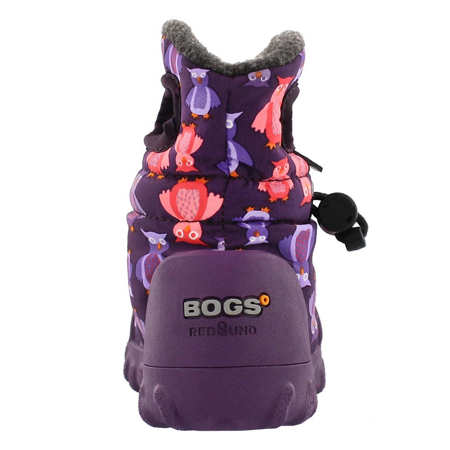 Botte imp B-MOC PUFF OWLS, violet, b�b�