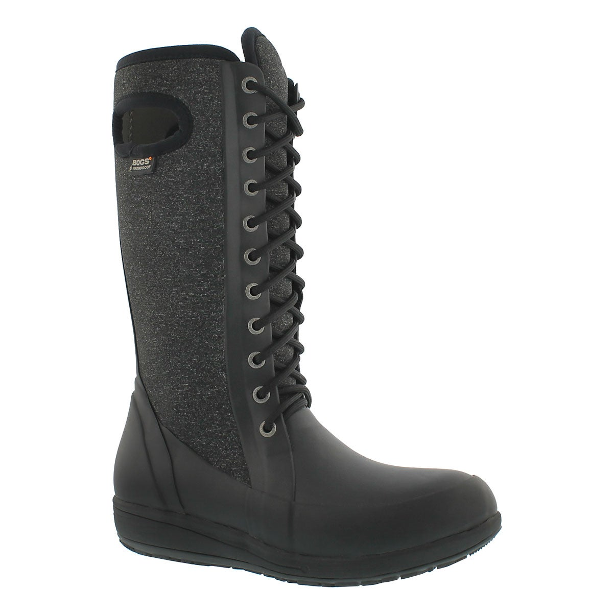 Women's CAMI LACE TALL MELANGE blk/mult wtpf boots