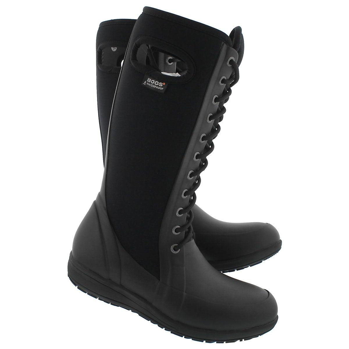 Lds Cami LaceTall black wtpf boot