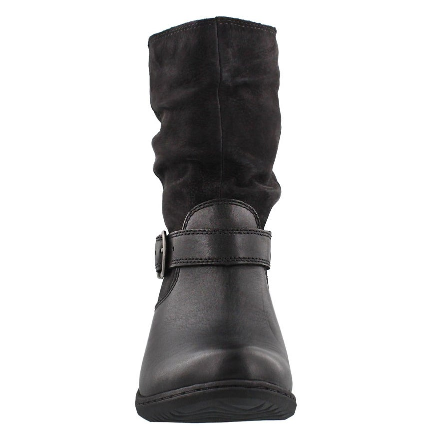 Bottine imperm�able Carly Mid, noir, fem