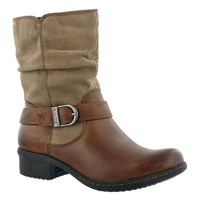 Bogs Women's CARLY MID hazelnut waterproof ankle boots