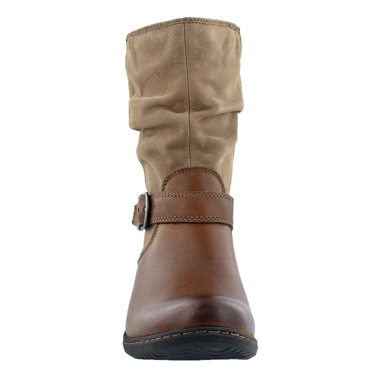 Lds Carly Mid hazelnut wtpf ankle boot