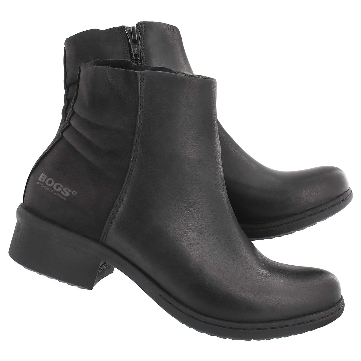 Lds Carly Low black wtpf ankle boot