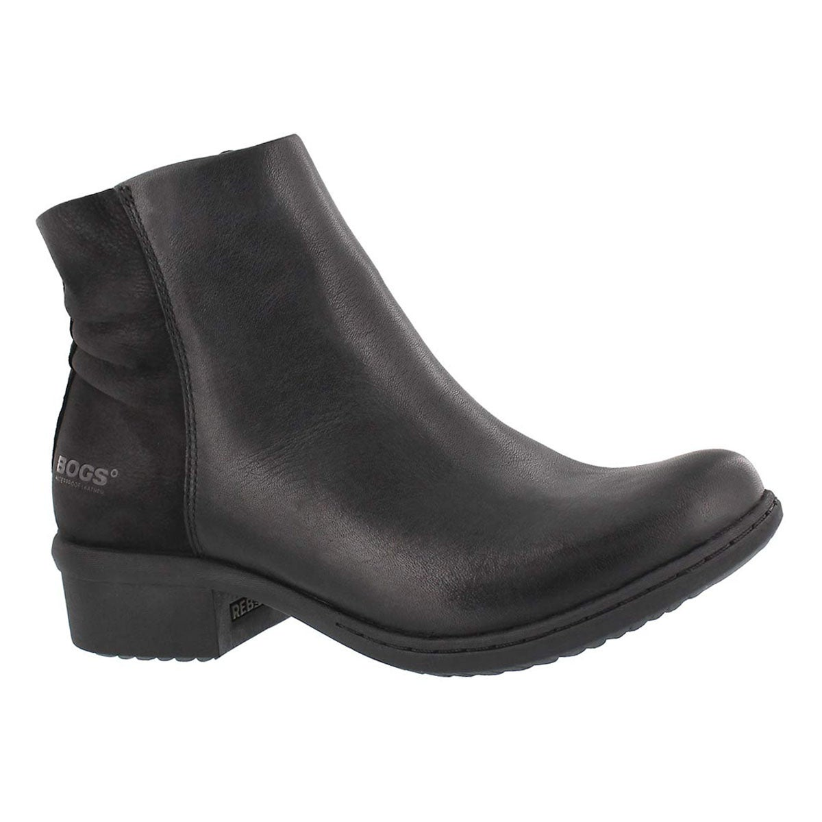 Women's CARLY LOW black waterproof ankle boots