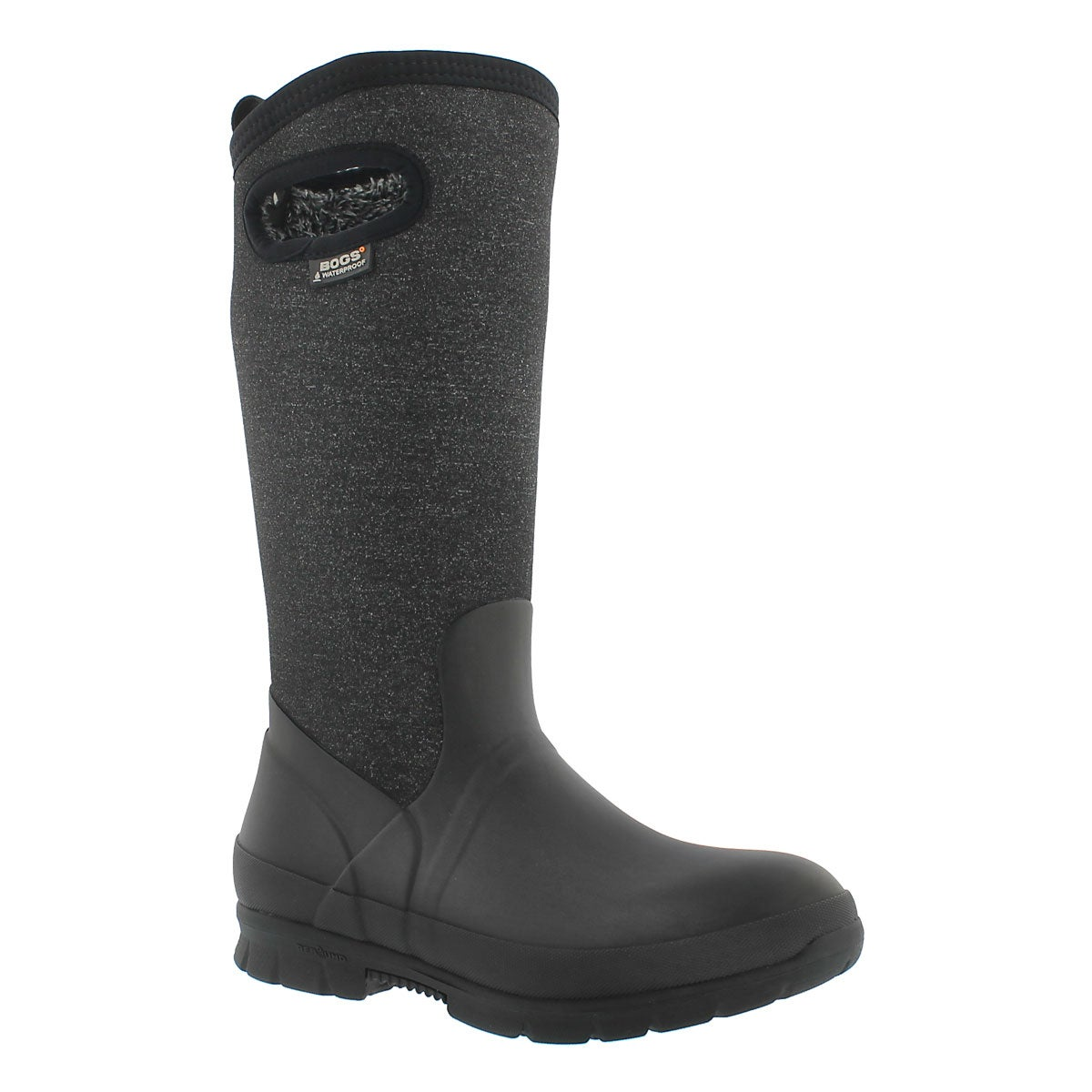 Lds Crandal Tall blk multi wtpf boot