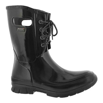 Lds Amanda 4-Eye black wtpf rain boot