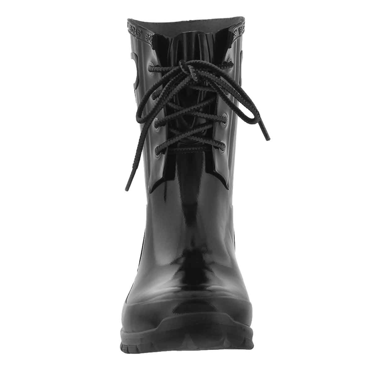 Lds Amanda 4-Eye black wtpf rain boot