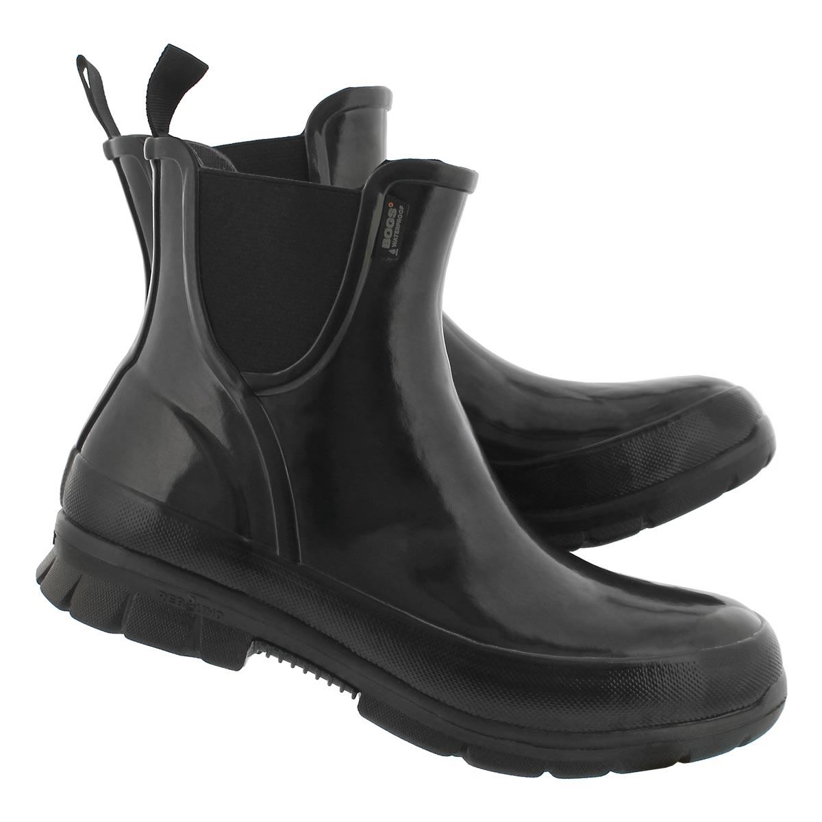 Lds Amanda black wtpf low rain boot