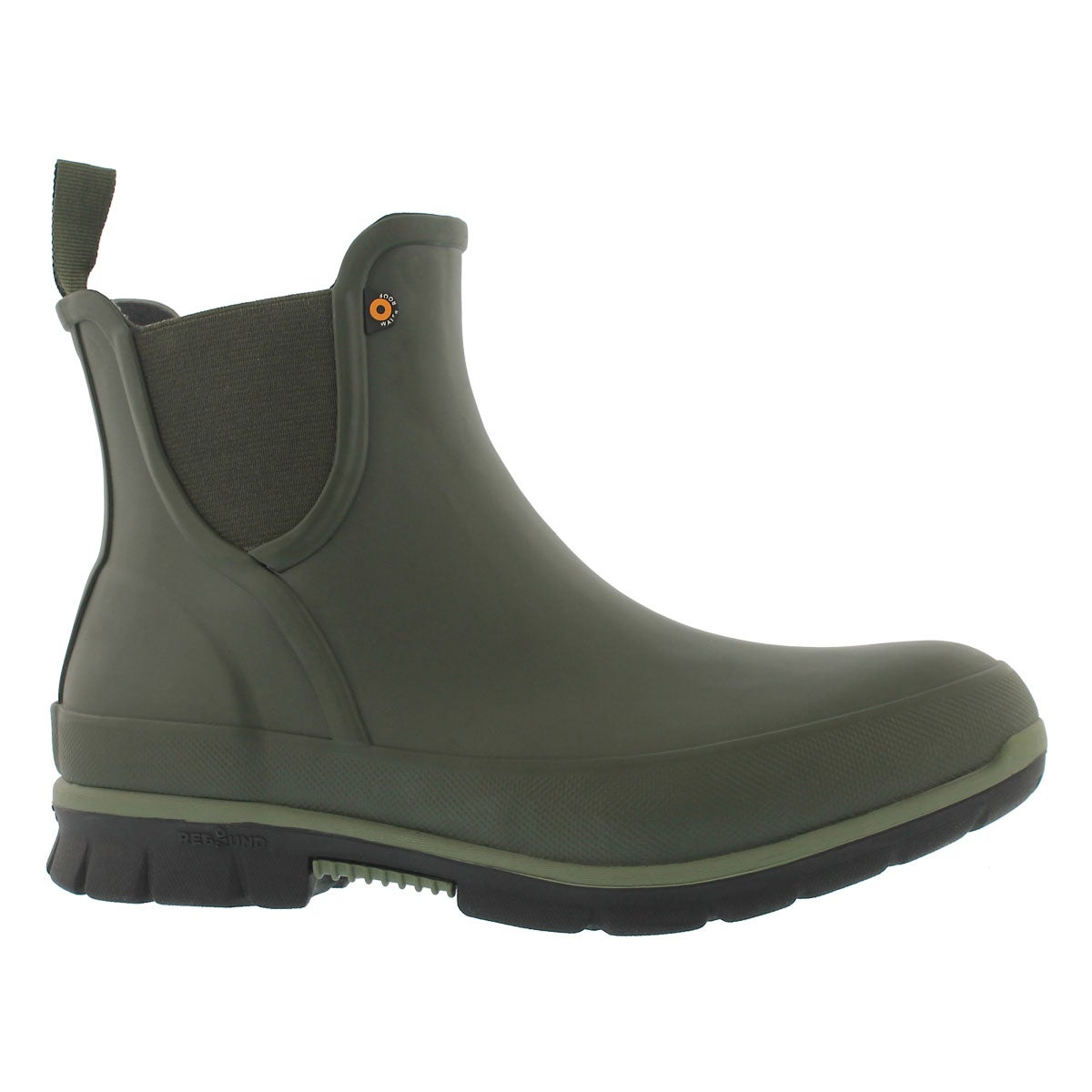 Women's AMANDA dark green waterproof lowrain boots