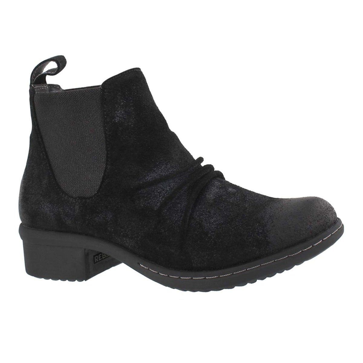 Women's AUBURN black wtpf slip on ankle boots