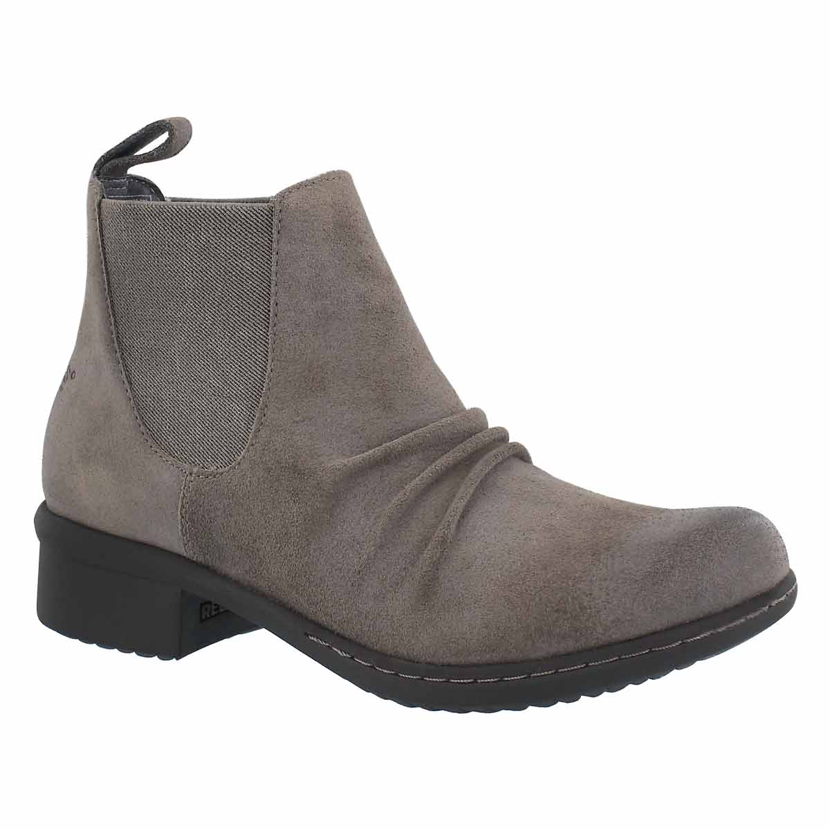 Women's AUBURN taupe wtpf slip on ankle boots