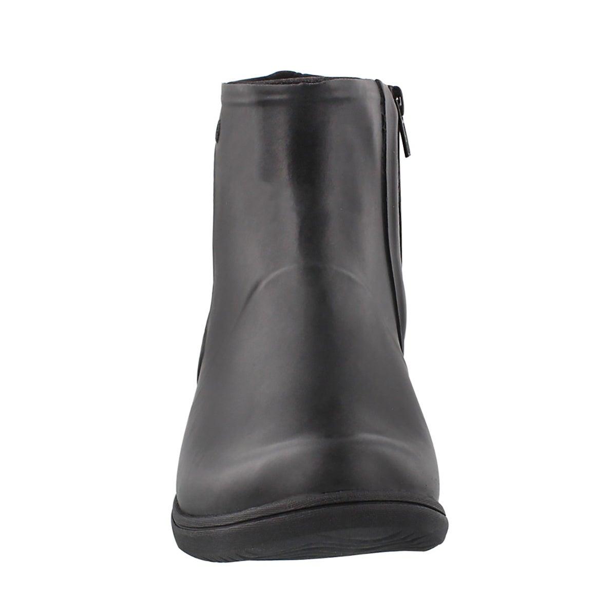 Lds Auburn black wtpf slip on wntr boot