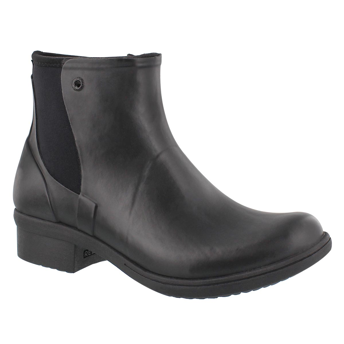 Women's AUBURN black wtpf slip on winter boots