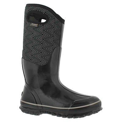 Lds Classic Triangles blk mlti wtpf boot