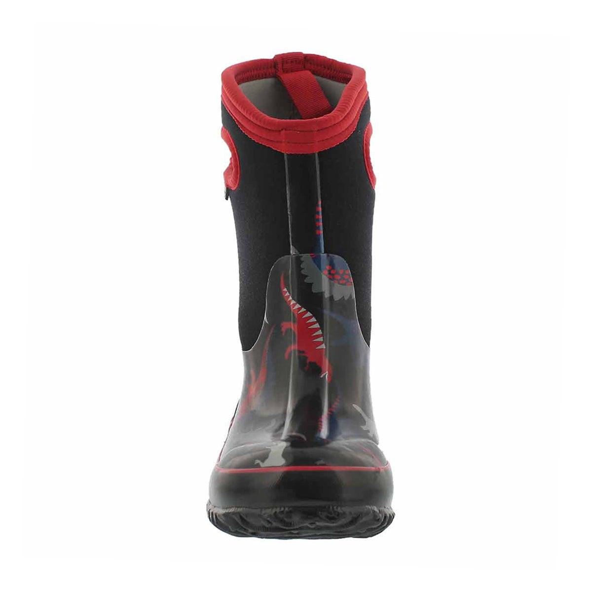 Bys Classic Dino black mlti wtpf boot