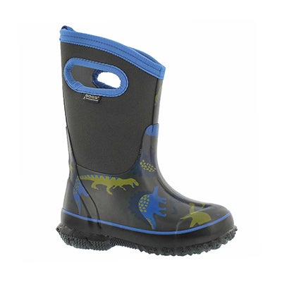 Bys Classic Dino dk gry mlti wtpf boot