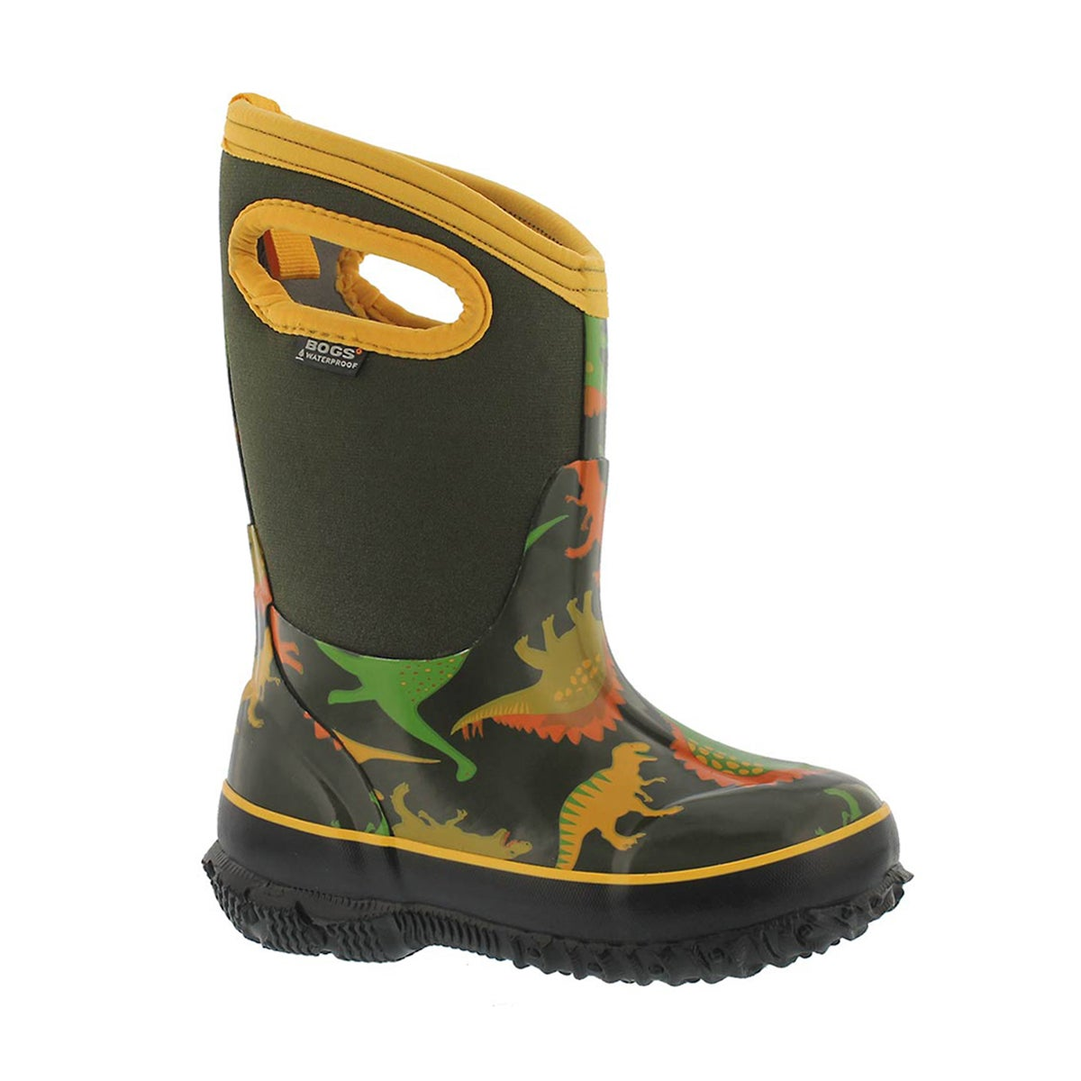 Bys Classic Dino moss mlti wtpf boot