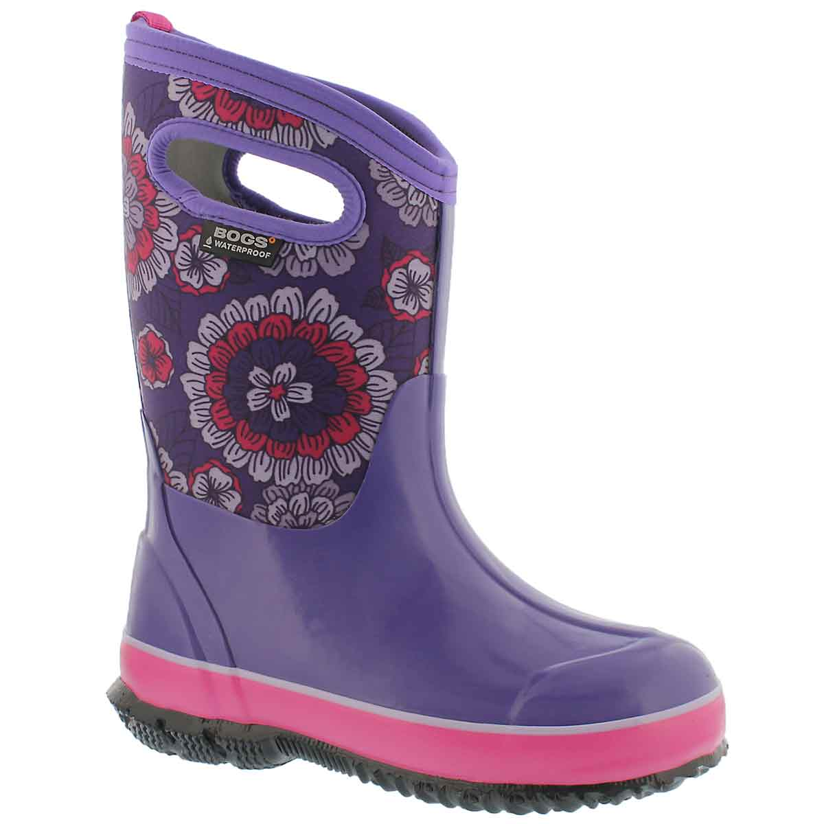 Girls' CLASSIC PANSIES ppl multi waterproof boots