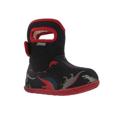 Inf-b Dino black multi wtpf boot