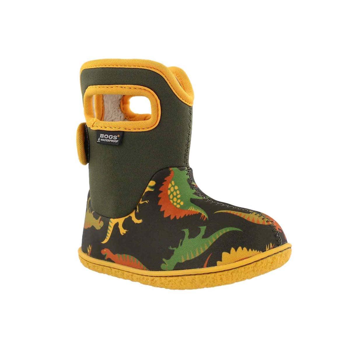 Infant boys' DINO moss boot