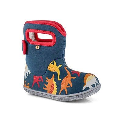 Inf-b Dino indigo multi wtpf boot