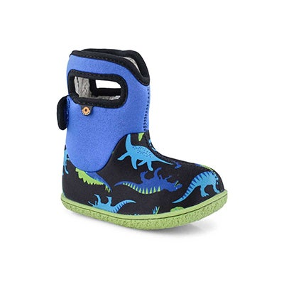 Inf-b Dino electric blue multi wtpf boot