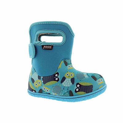 Inf-g Owls blue multi wtpf boot