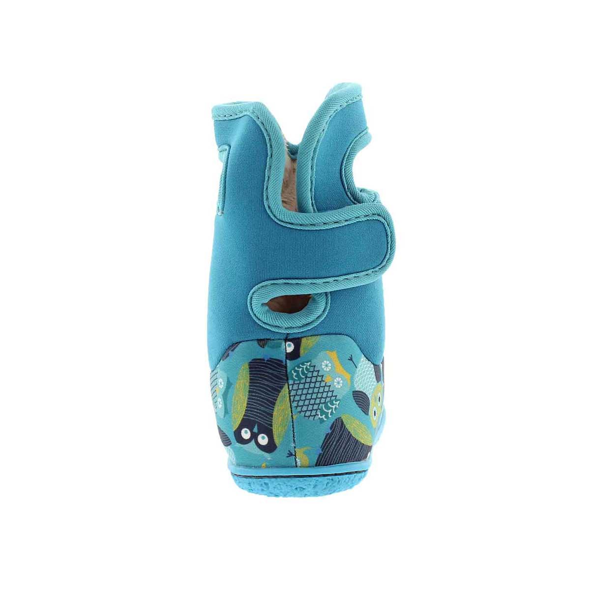 Inf-g Owls blue multi wtpf boot