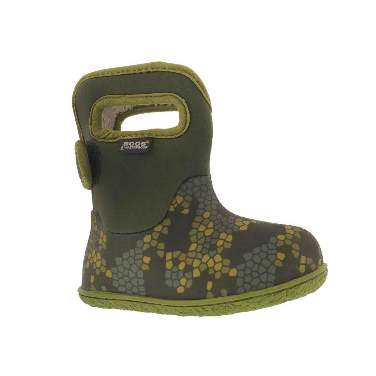 Infants' AXEL moss multi waterproof boots