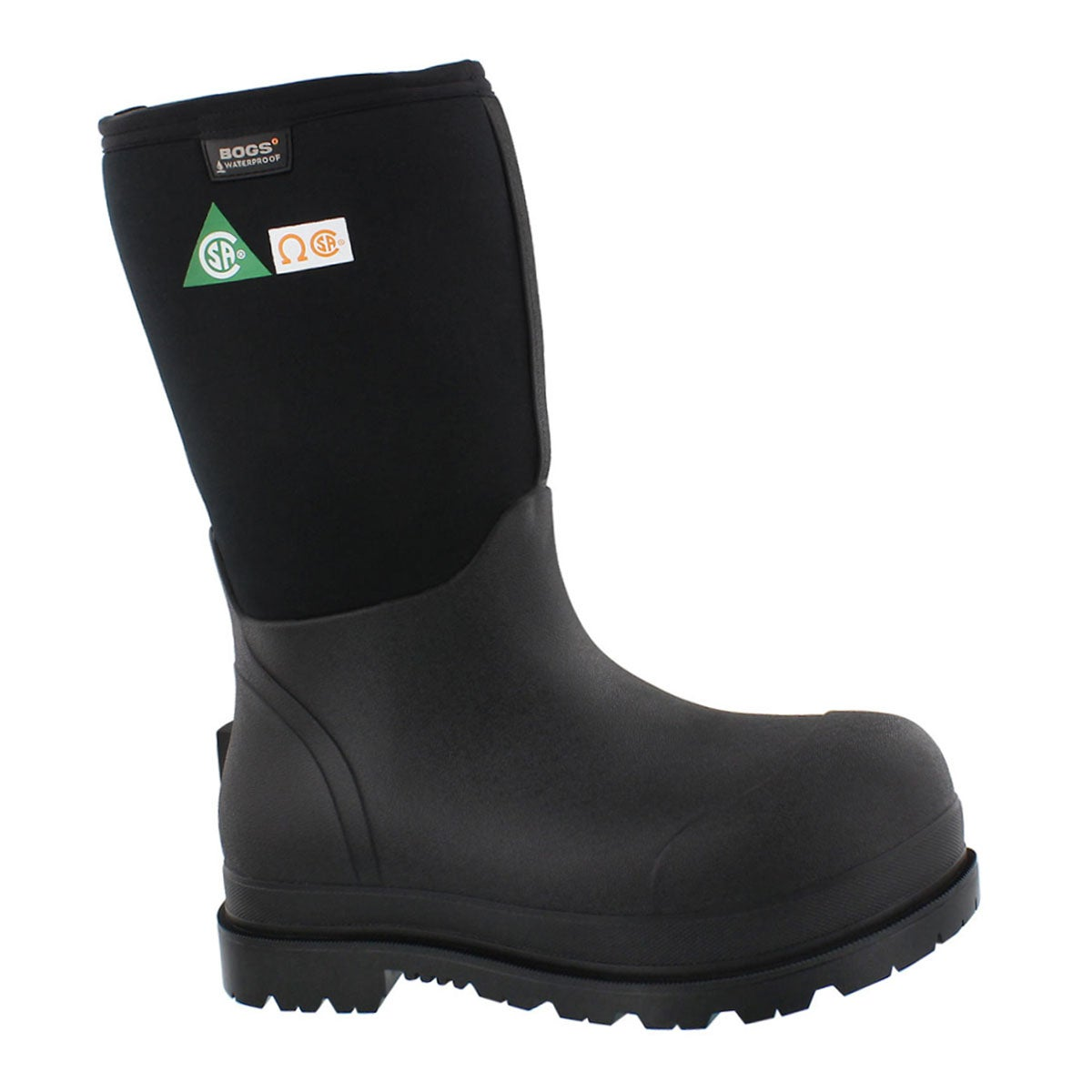 Men's STOCKMAN CT CSA waterproof black boots