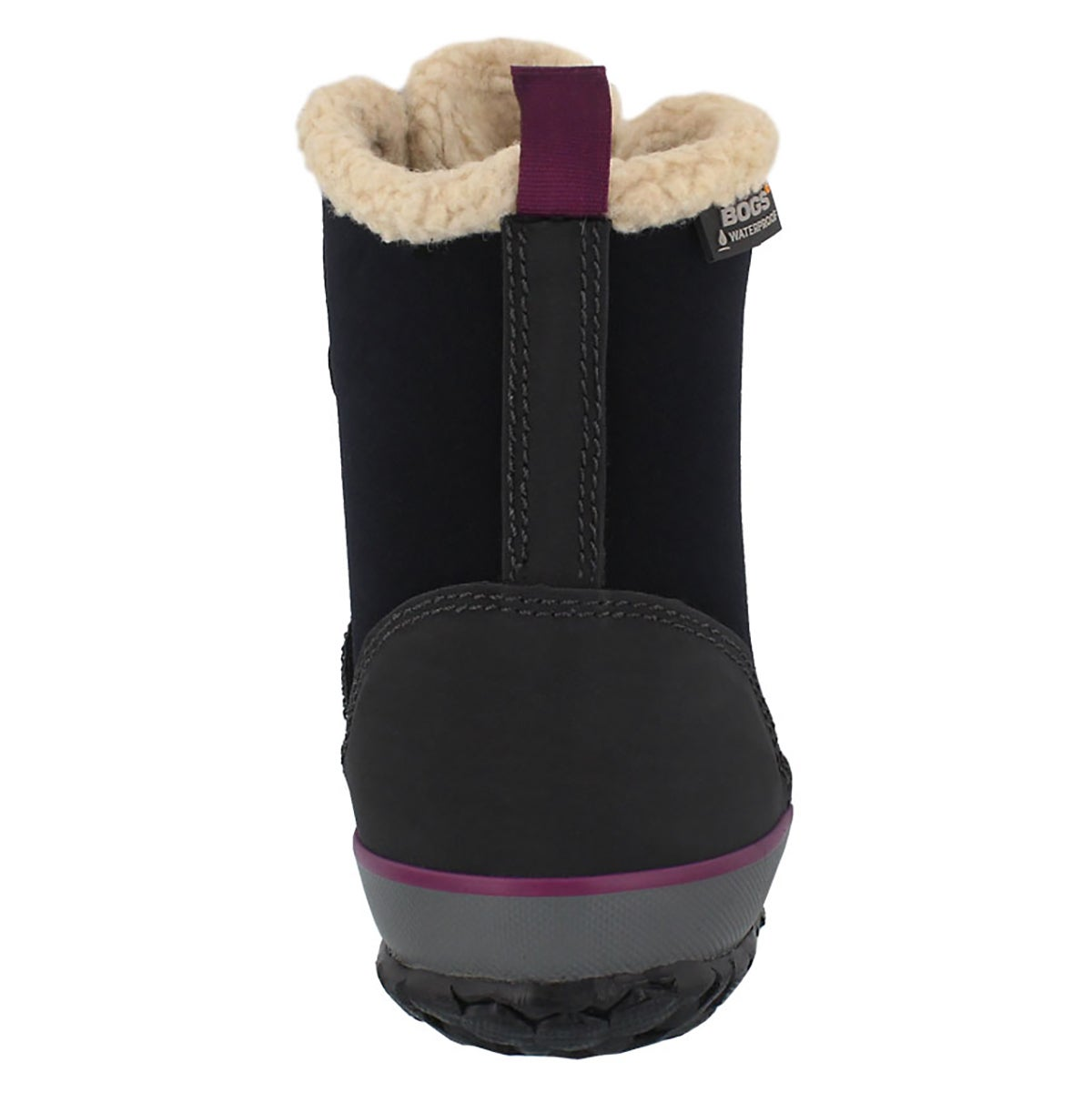 Lds Skylar black laceup wtpf boot